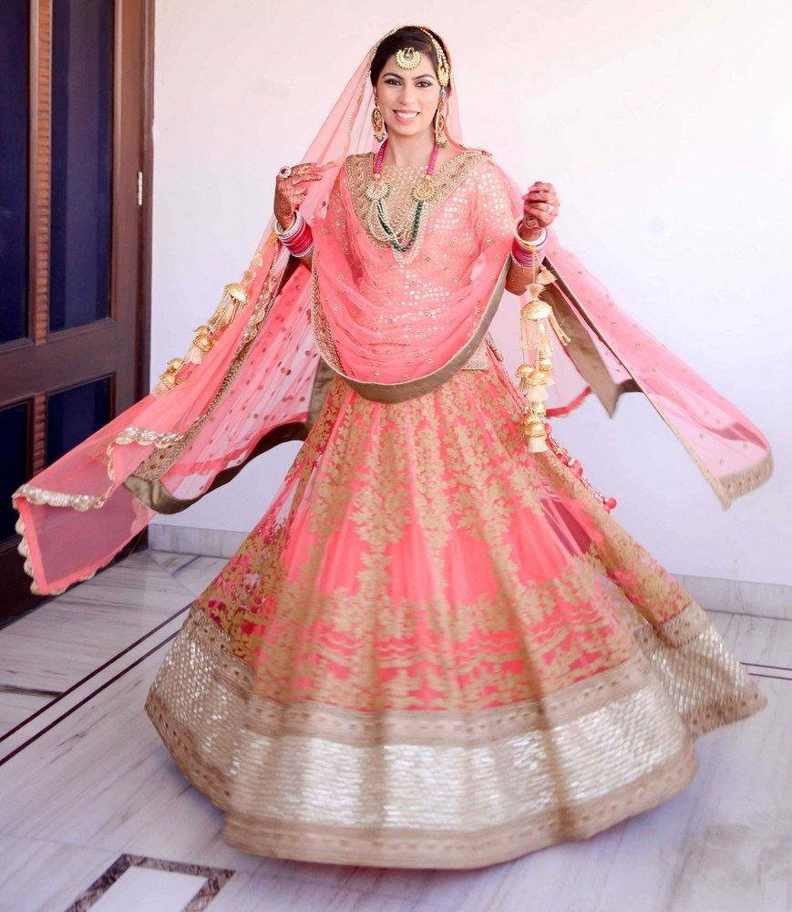 Wedding in Ludhiana with a radiant bride