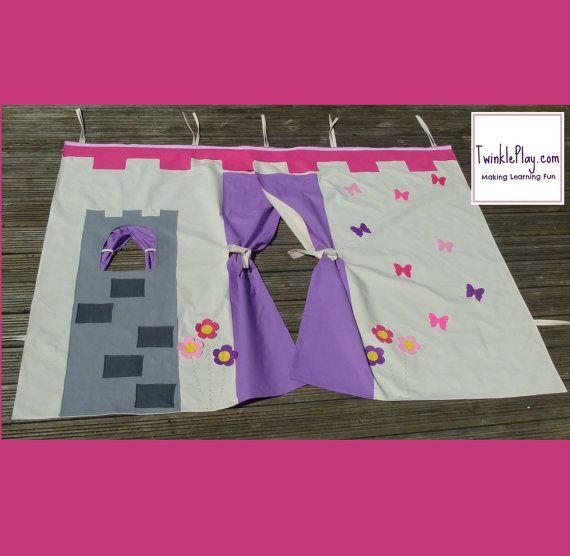 Childrenu0027s Bed Tent Princess Castle Mid Sleeper Bed by TwinklePlay & Childrenu0027s Bed Tent Princess Castle Mid Sleeper Bed by TwinklePlay ...