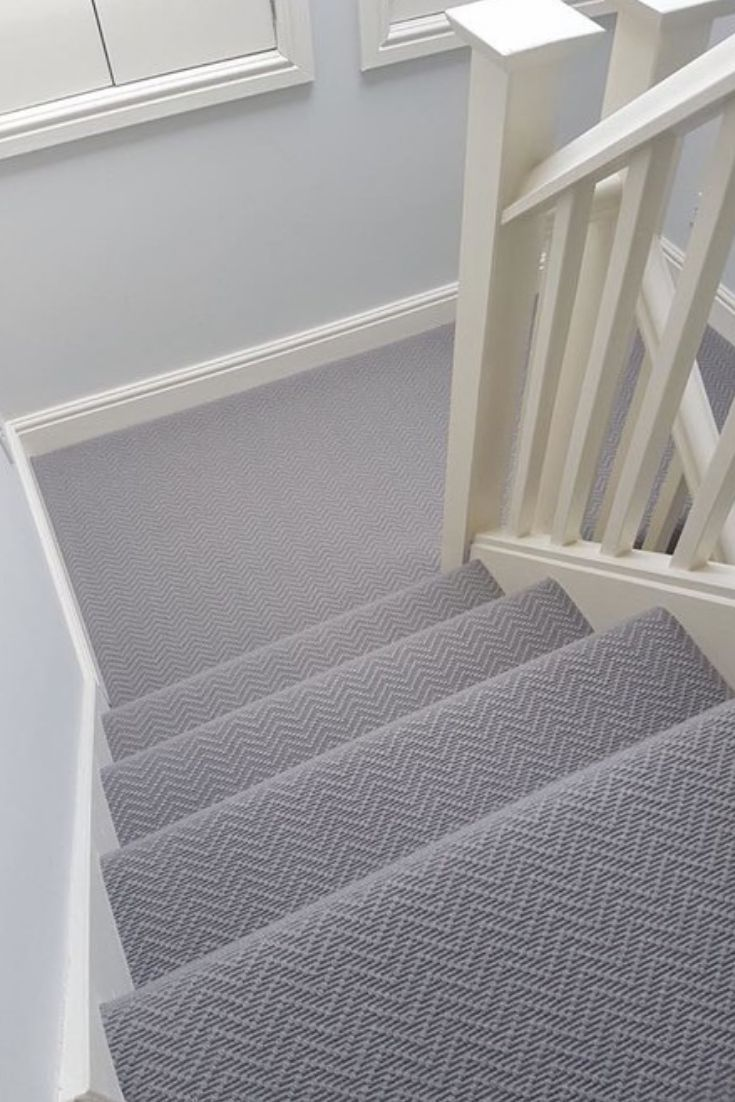 Best Wool Iconic Chevron Tower Carpet In 2020 Stair Runner 400 x 300