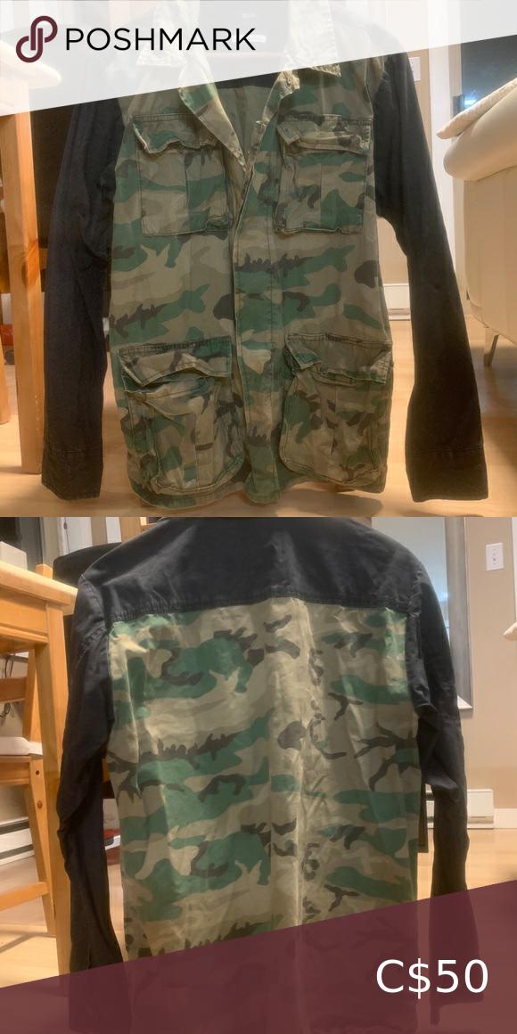 BDG lightweight camo jacket