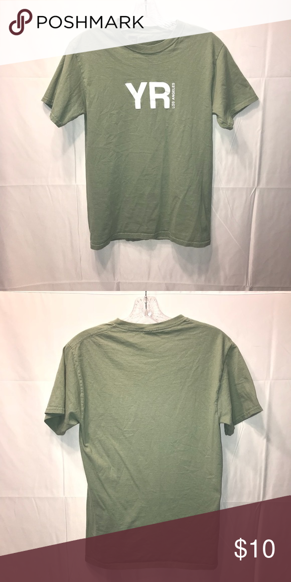Young Reckless Army Green T Shirt Young And Reckless Army Green T Shirt Unisex Great Condition Used Hardly Worn Reckless Shirts Shirts Army Green Tshirt