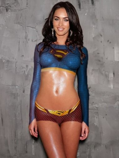 Supergirl Megan Fox Superman Megan Fox