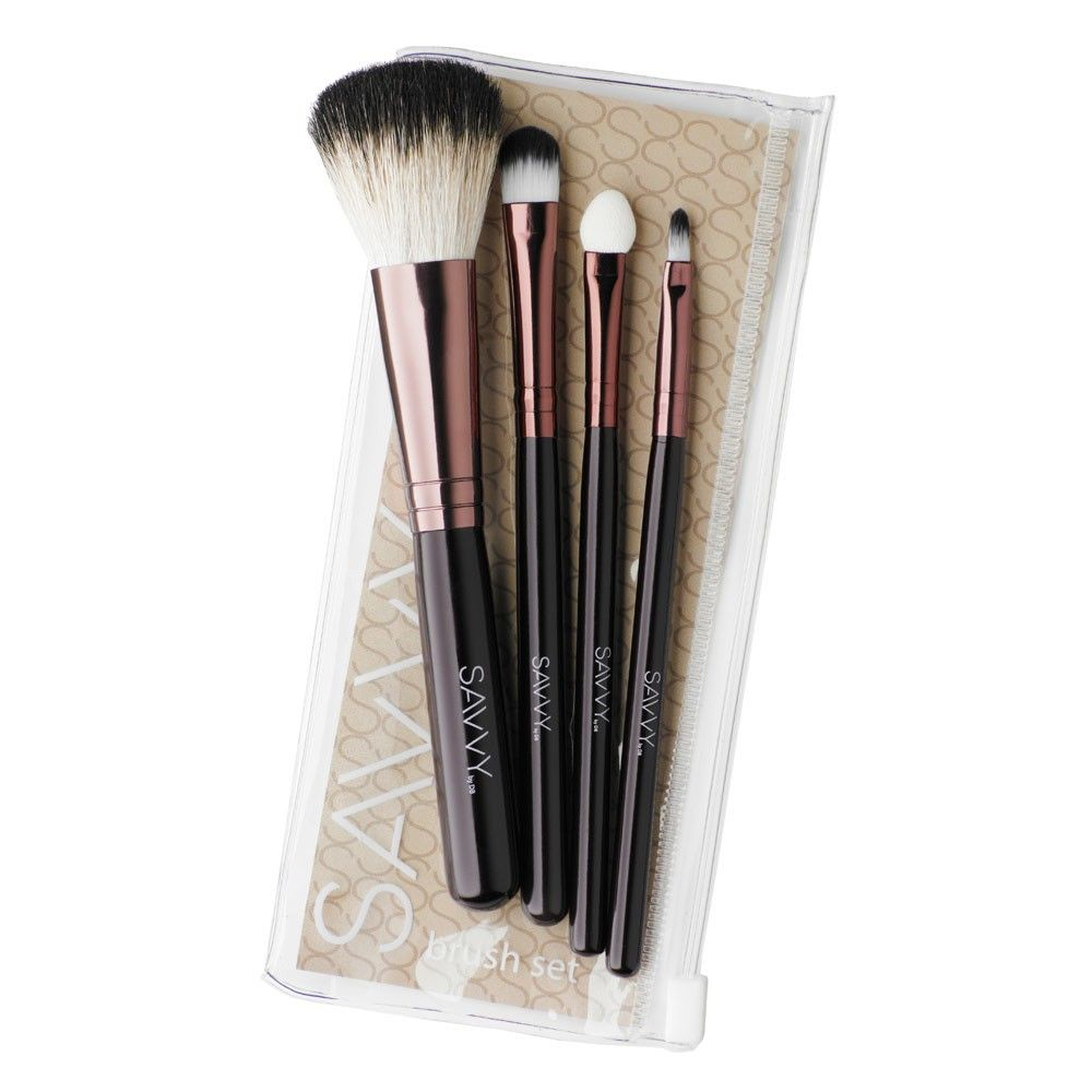 Savvy Cosmetics Brush Set 1 ea