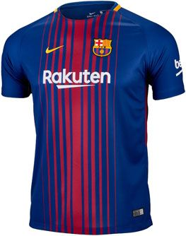 febd10c87 2017 18 Nike FC Barcelona Home Jersey. Buy yours from www.soccerpro.com