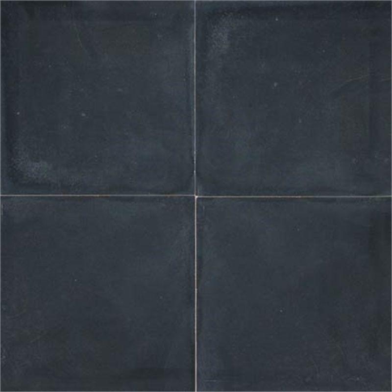 Cement Tiles Black Texture