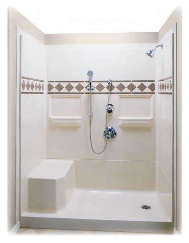 Shower Stalls With Seats Built In 60 X 32 Remodeler Shower