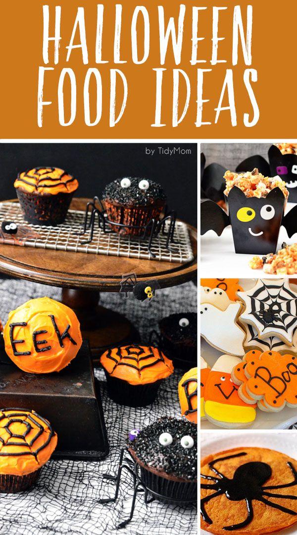 Cool and Fun Halloween Food Ideas Fun food, Easy halloween food - cute easy halloween treat ideas