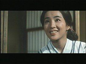 Tora-san's Lovesick [Otoko wa tsurai yo: Torajiro koiyatsure] (1974, Japan). A young widow (Sayuri Yoshinaga as Utako) who works in the municipal library retires from work. http://www.imdb.com/title/tt0071954/