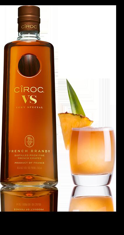 Passion No 9 Cocktail Recipe Made With Ciroc Vs Brandy Ciroc Recipe Liquor Drinks Brandy Cocktails Brandy Liquor