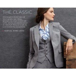 Banana Republic Klassischen Damen 3-Teiler Anzüge | Mode ...