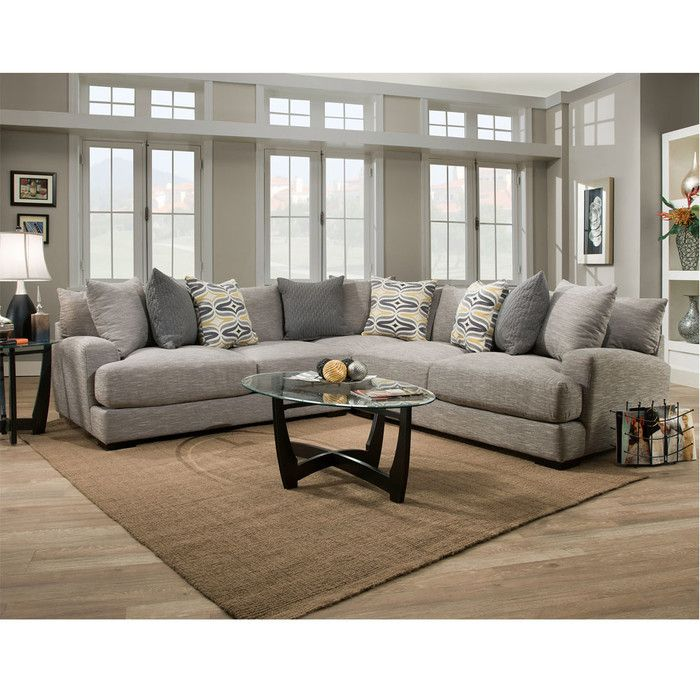 Laurel Foundry Modern Farmhouse Rosemary Sectional Reviews