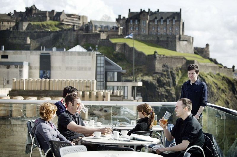 Edinburgh, the hilly capital of Scotland has a vibe that ...