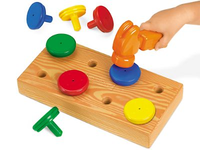 Little Hands Hammering Board at Lakeshore Learning