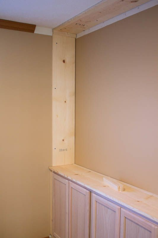 The Affordable way to Build Built in Bookshelves (Part 2) is part of The Affordable Way To Build Built In Bookshelves Part - How to build custom built in bookshelves for your home  Do it yourself and save a ton of money! It's an easy building project with only a few tools needed