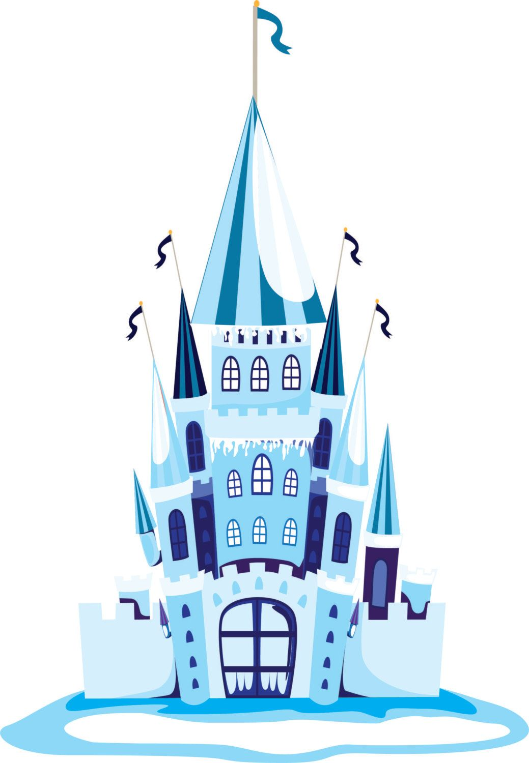 wall stickers rymden wall stickers rymden blue ice castle wall decal vinyl wall sticker removable wall decal by