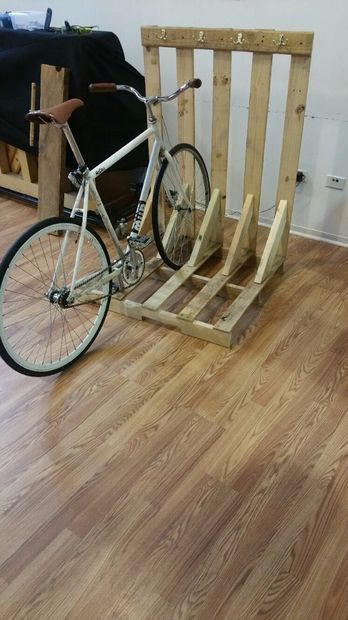 Bike/Skateboard Rack and Guitar Rack