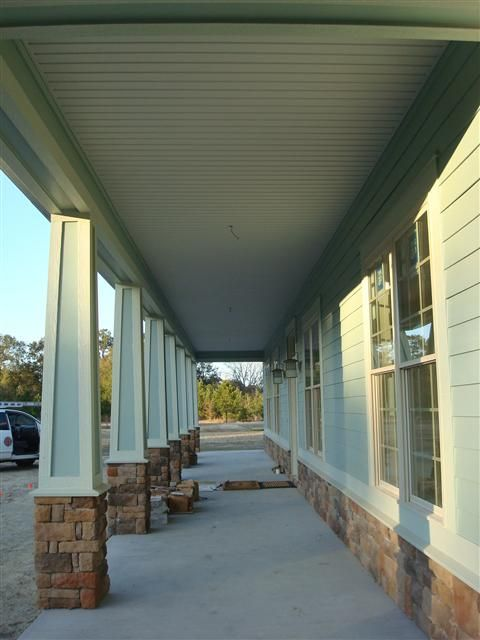 Beaded Vinyl Soffit And Porch Ceiling Aluminum Vinyl