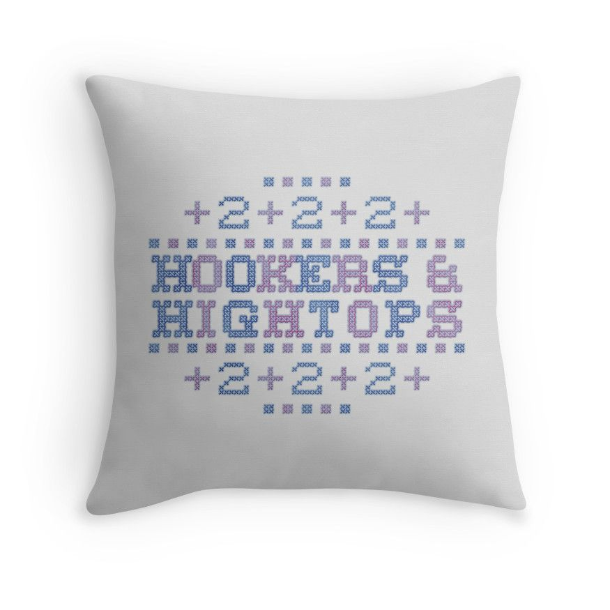Cross Stitch - Hookers & Hightops - Blue/Purple