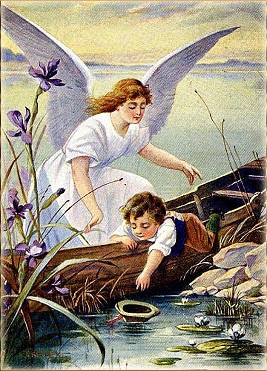 Flash Magic: Ангел-Хранитель и Дети.