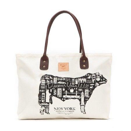 Will Leather Goods New York City Tote  nyc  newyork  WILLnyc  tote  bag   cow  nolita 85abd53db6011