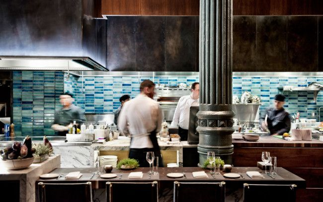 Design heavyweights the Rockwell Group set the scene for an ongoing celebration of the finest cuisine in the world.