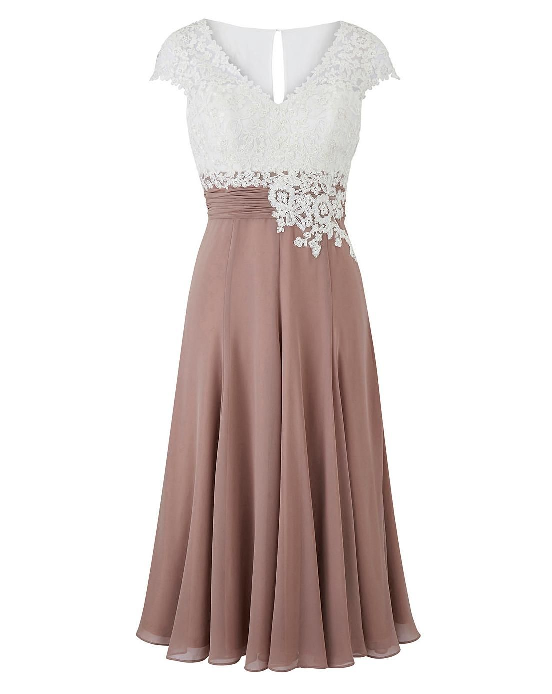 Nightingales Dress With Lace Detail J D Williams Lace Detailed Dress Mother Of The Bride Dresses Bride Dress Lace [ 1387 x 1104 Pixel ]