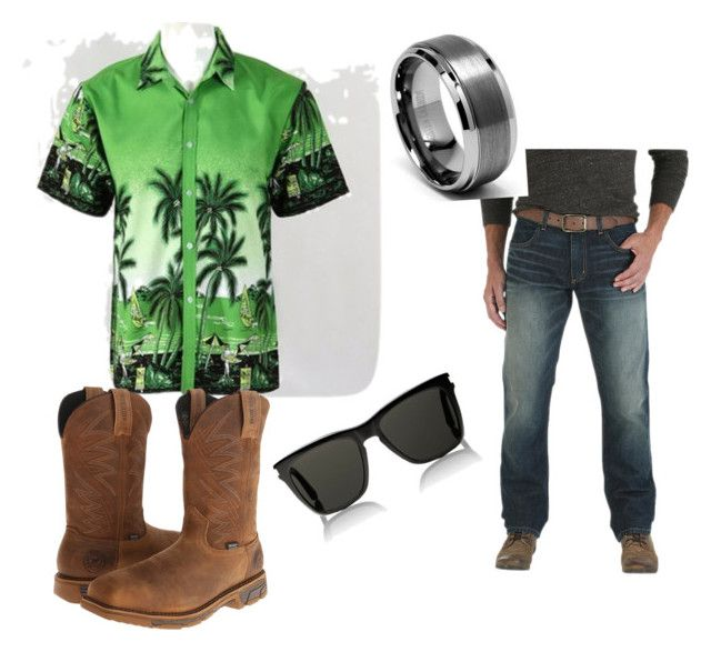 """""""Clothes"""" by tristan-scholl on Polyvore featuring Wrangler, Irish Setter and Yves Saint Laurent"""