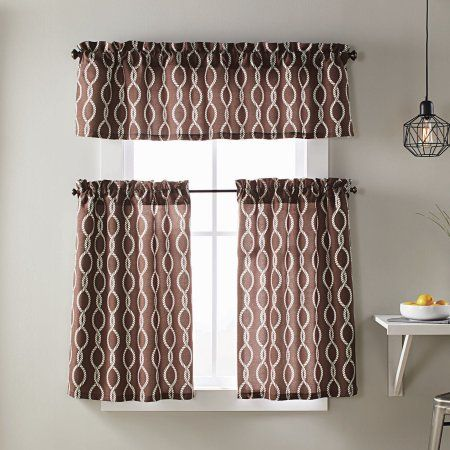 Home Kitchen Curtain Sets Better Homes Home Garden