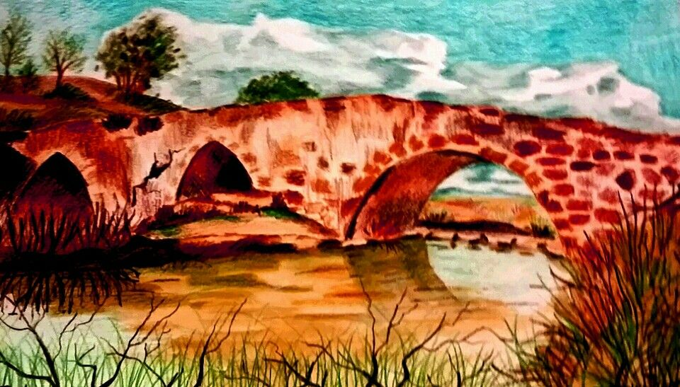 El puente  Acuarela.