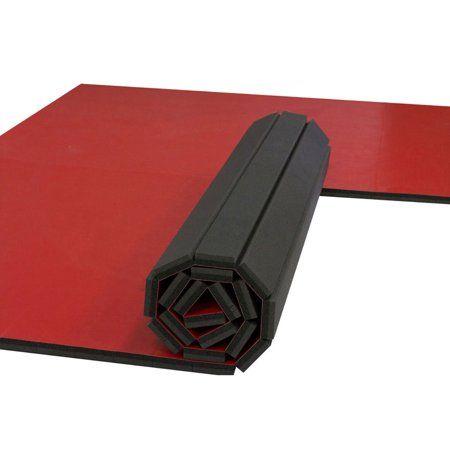 flexiroll home wrestling matno marks 10'x10' red