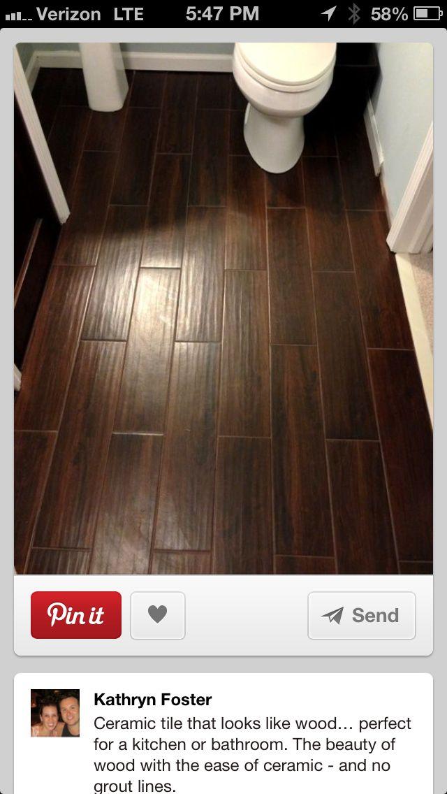 Floors Ceramic Tile That Looks Like Wood Cerámica Que Parece Madera Muy Buena Idea Para Piso De Cocina