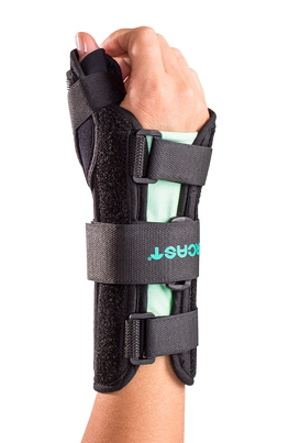 18+ AirCast®  A2™ Wrist Brace with Thumb Spica   Small / Left