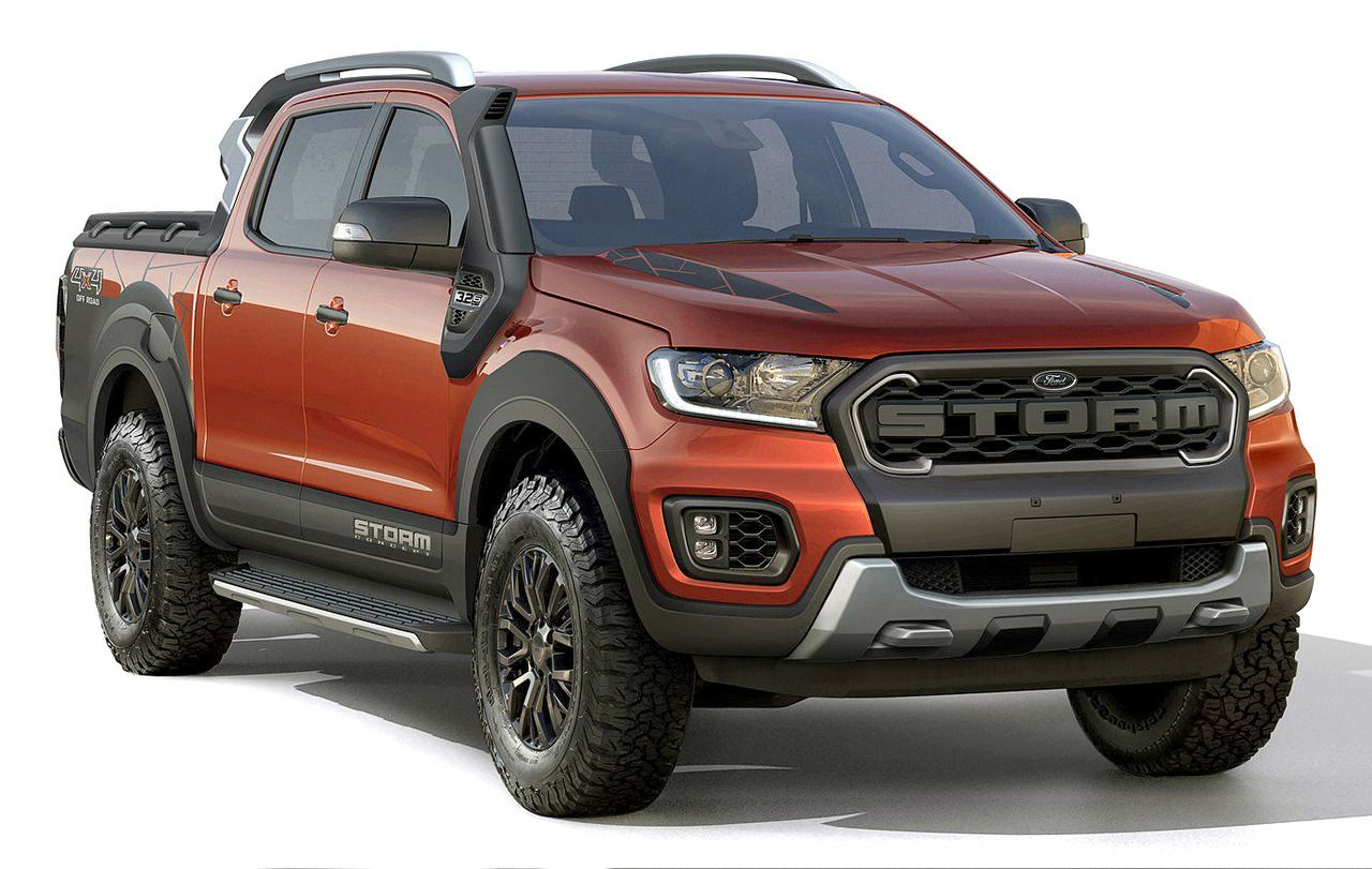 Ford Ranger Storm Concept 2018 Another Pick Up Prototype Presented At The Sao Paulo Motor Show The Ranger Storm Features In 2020 Ford Ranger Ranger 4x4 Ford Ranger
