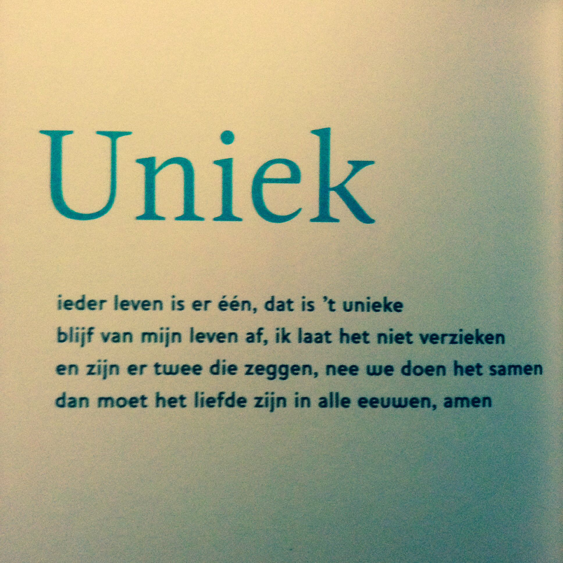 Bekend Uniek, Toon Hermans, De Ander, over vriendschap, gedicht | Toon  ES63