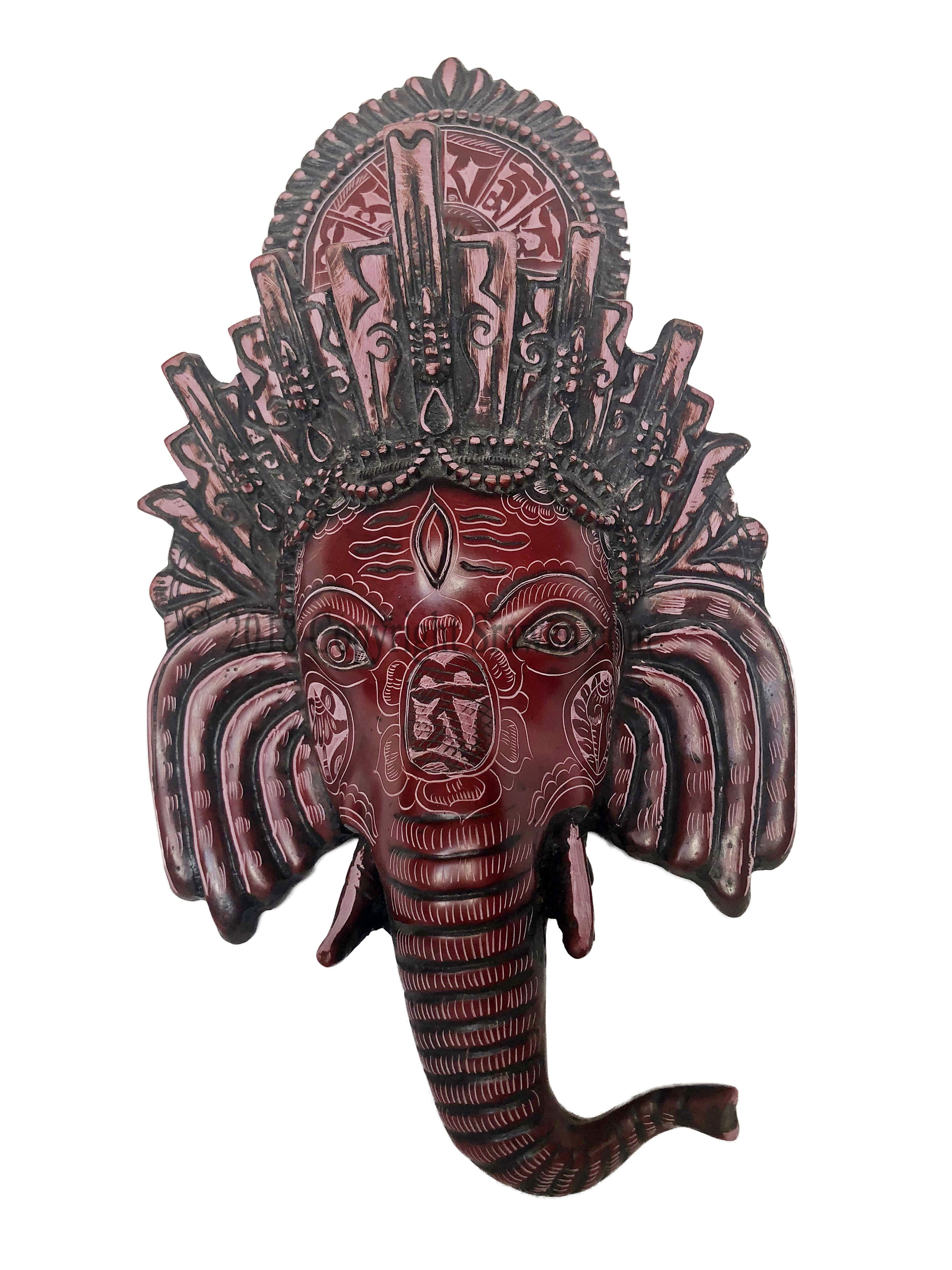 Exotic Wall Hanging Sculpture This Is A Great Mask For People Who