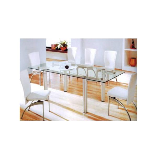 Tavolo cucina allungabile con telaio e struttura in metallo ...