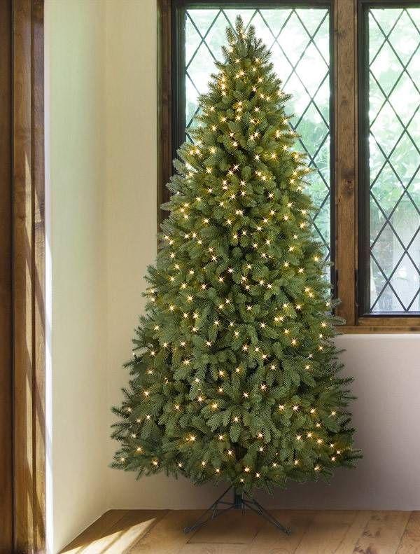 Park Avenue Corner Tree   Corner christmas tree, Christmas tree, Artificial christmas tree