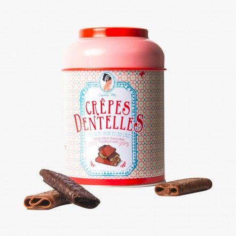 Crêpes dentelles au chocolat - Sophie M