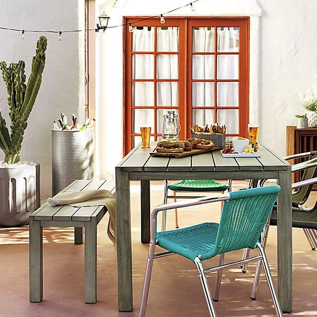our Dockside II Dining Table by Jonas Wahlstrom, is an eco-frendly