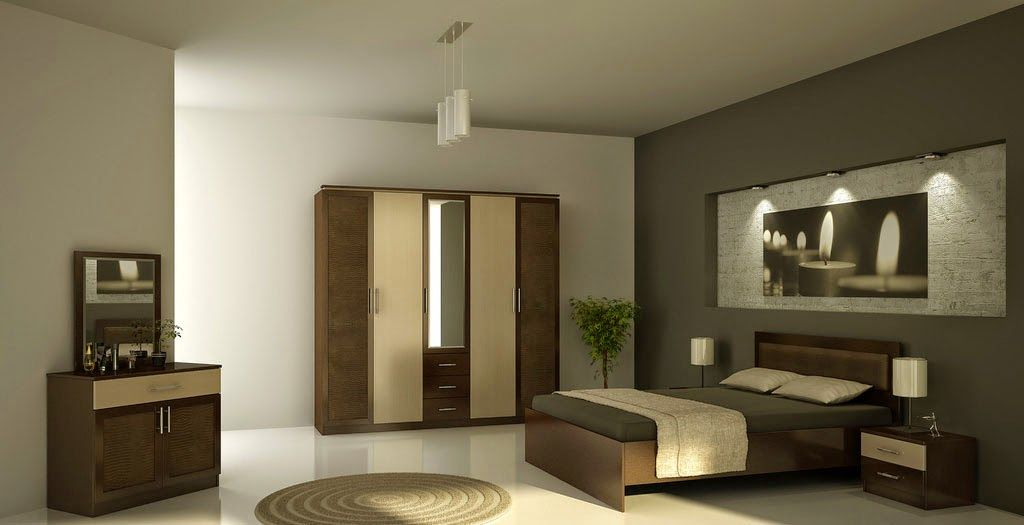 D co design design chambre coucher moderne chambre for Photo chambre parentale moderne
