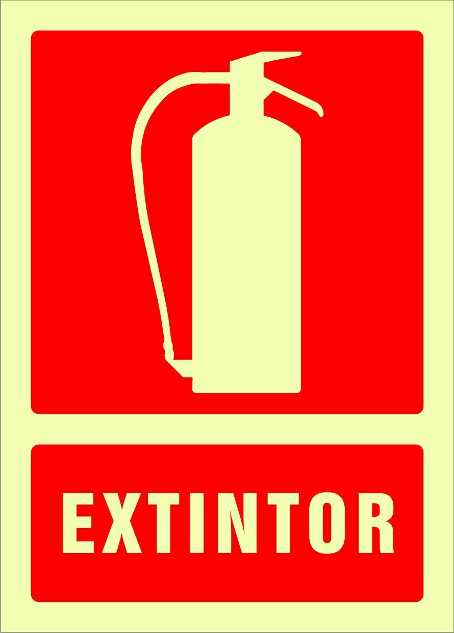 Señal extintor | Rótulos de équipos contra incendios | Pinterest ...