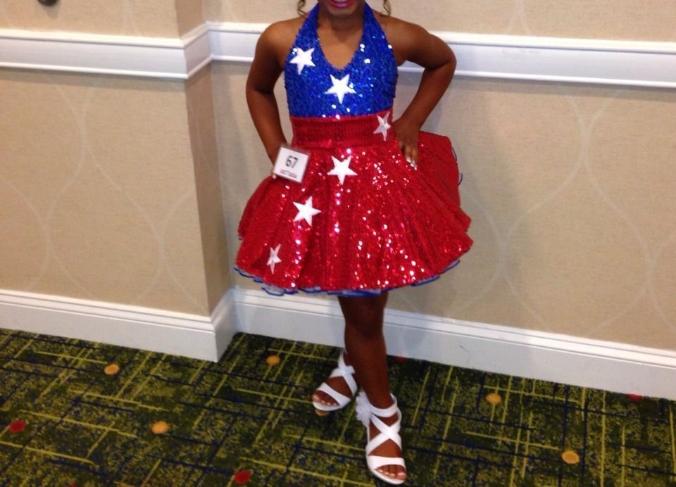 Red White Blue Pageant Dress