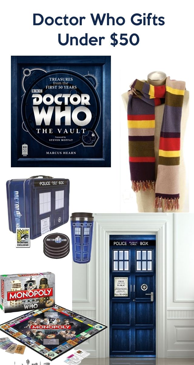 Doctor who gifts for christmas