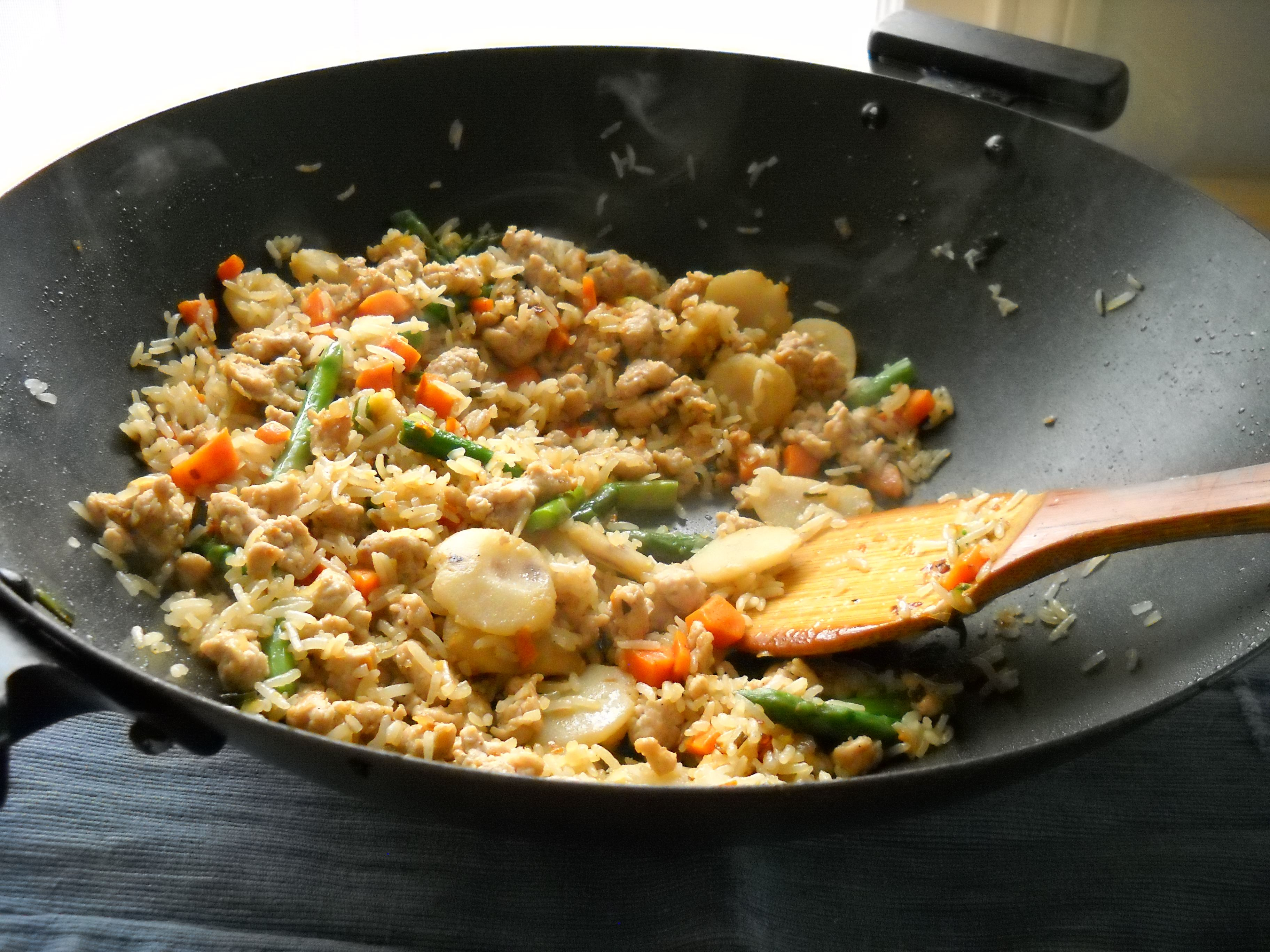 Gluten Free (Allergy Free) Chicken Fried Rice and Soy Free Soy Sauce Recipe