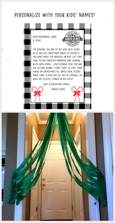 Elf Letter, Printable Elf Arrival Letter, Letter
