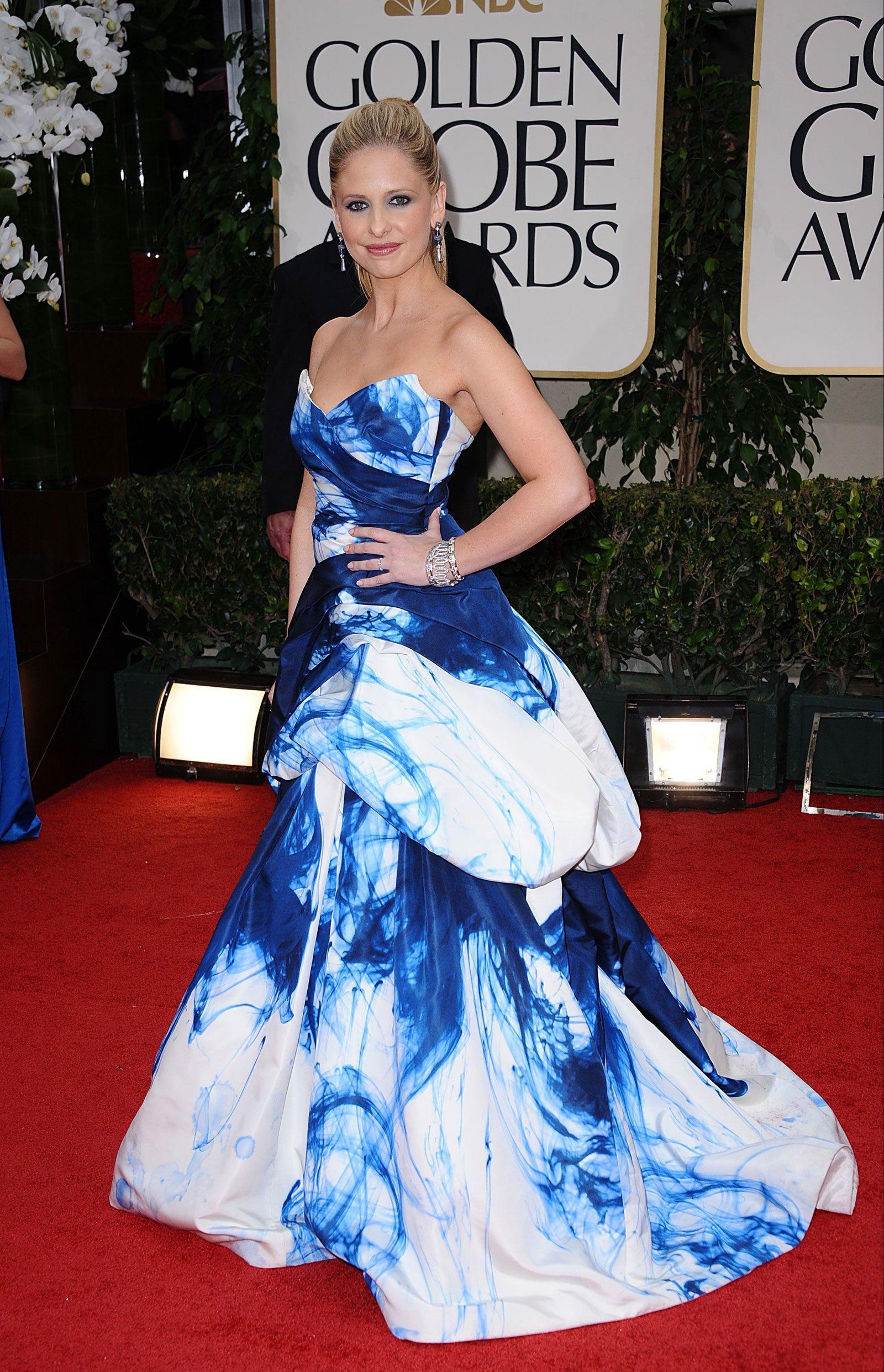 Sarah Michelle Gellar at 69th Annual Golden Globe Awards in Los Angeles