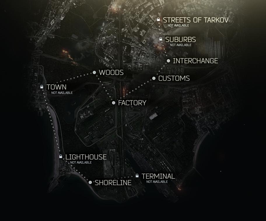 Image result for escape from tarkov maps | Maps | Escape