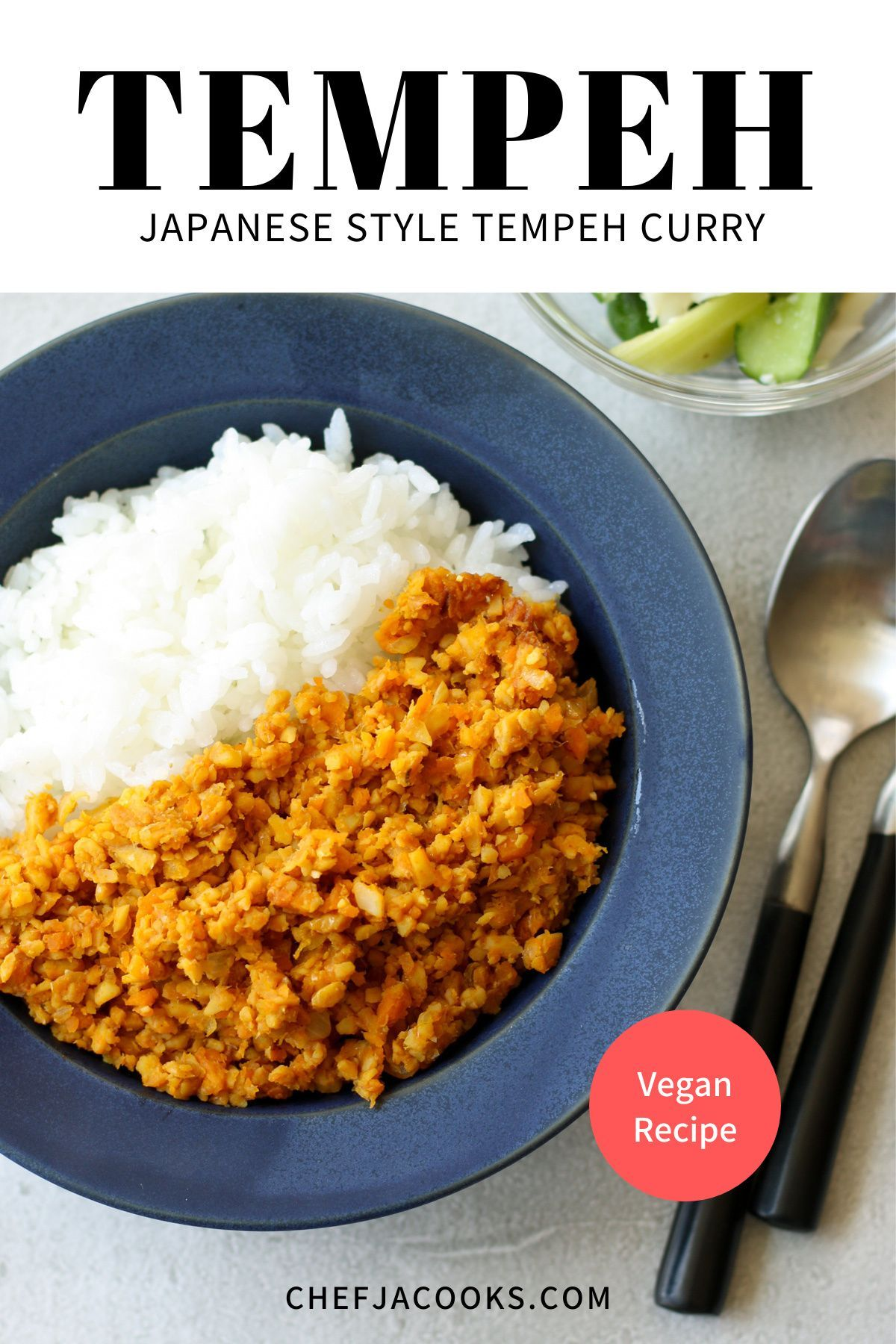 Japanese Style Tempeh Dry Curry Chef Ja Cooks Recipe In 2020 Healthy Japanese Recipes Asian Vegetables Recipes