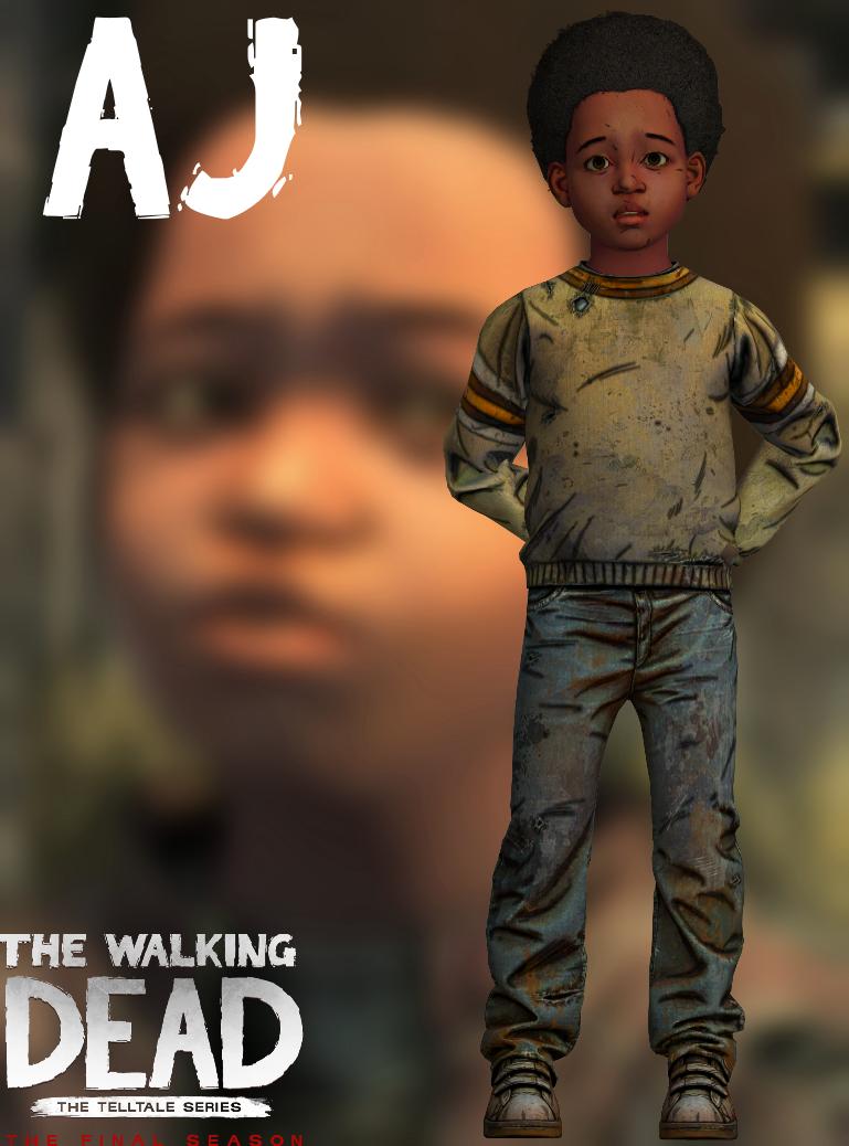 Aj Twd Tfs Xps By Xzombiealix Walking Dead Game The Walking Dead Telltale The Walking Death