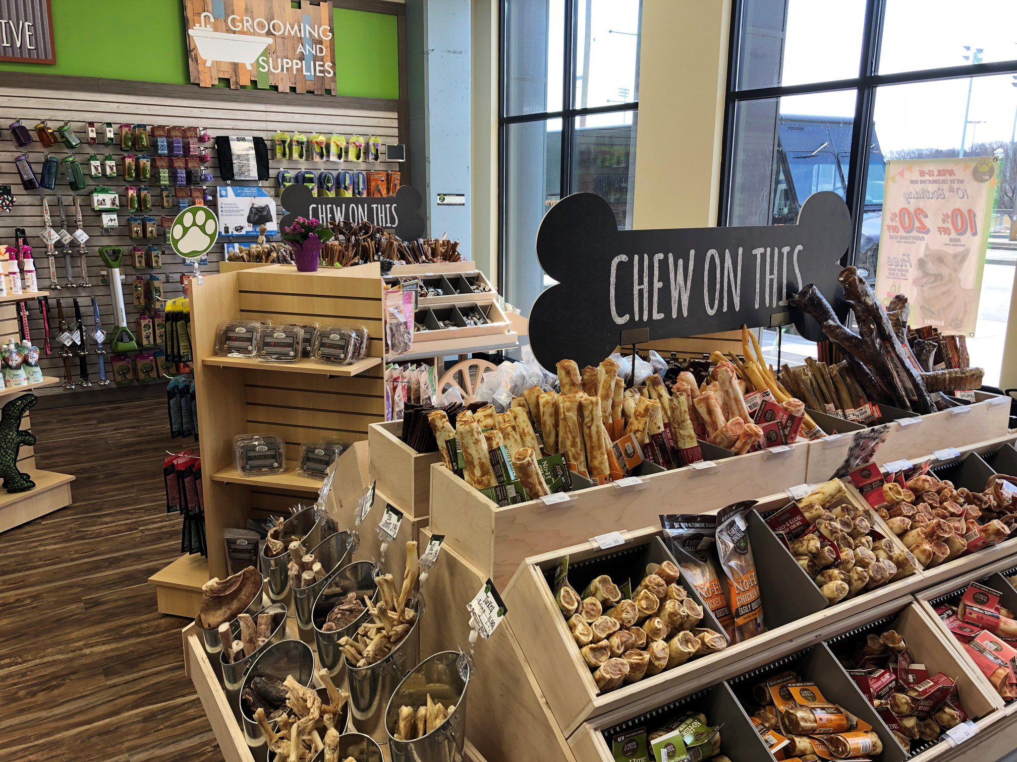 Our new Wauwatosa, WI location Food, Natural dog, Treats
